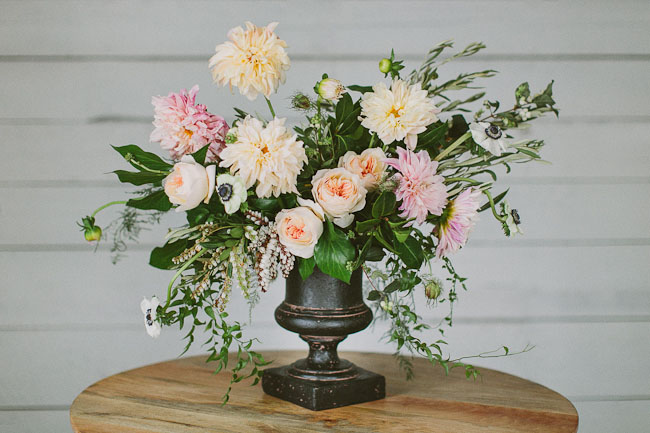 changing seasons floral arrangement