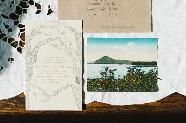 scenic invitation