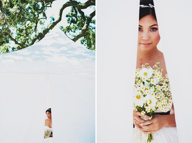 outdoor farm bride