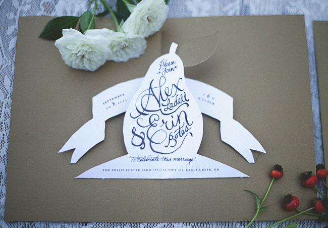pear invitation