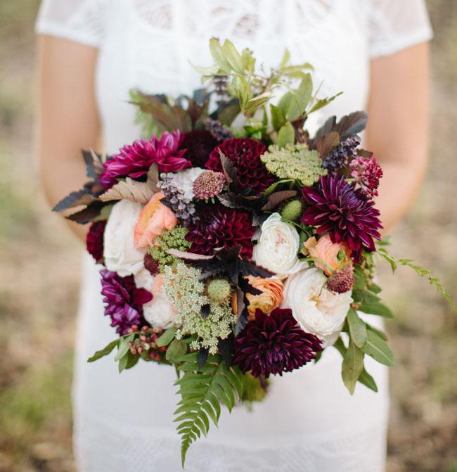 Fall Tartain bouquet