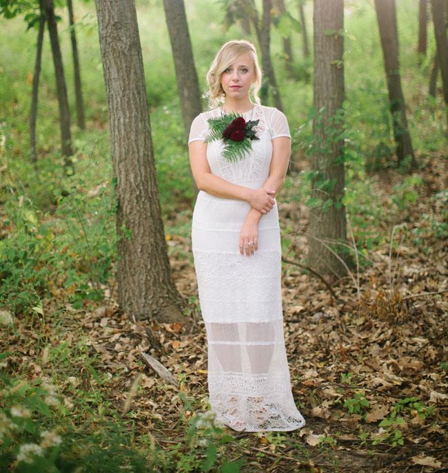 Fall Tartan Bride