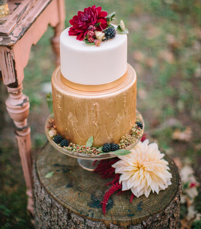 Fall Tartan Cake