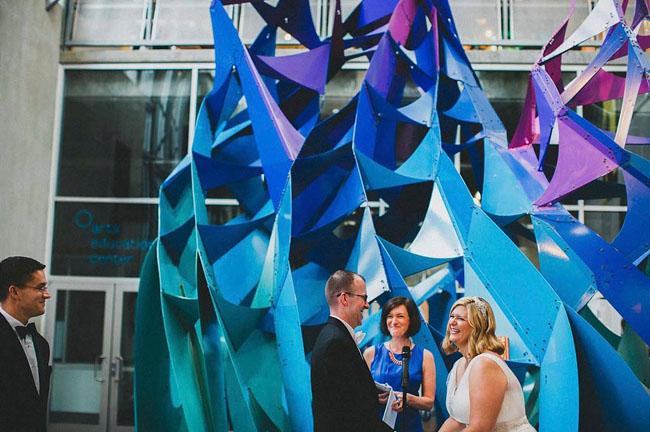 museum wedding