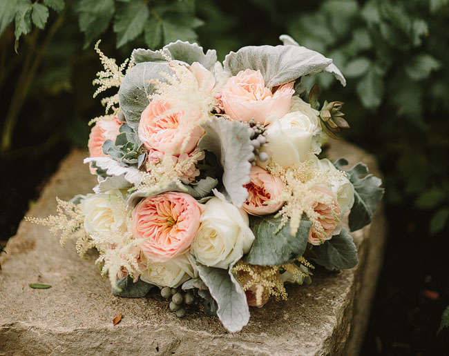 nashcago wedding bouquet