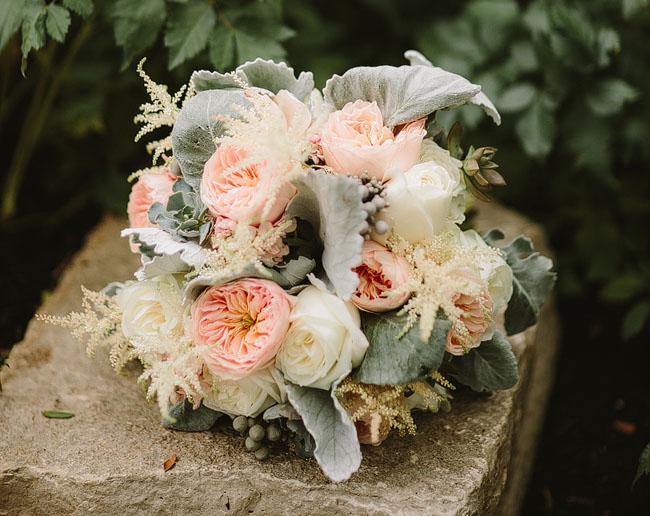 nashcago wedding bouquet