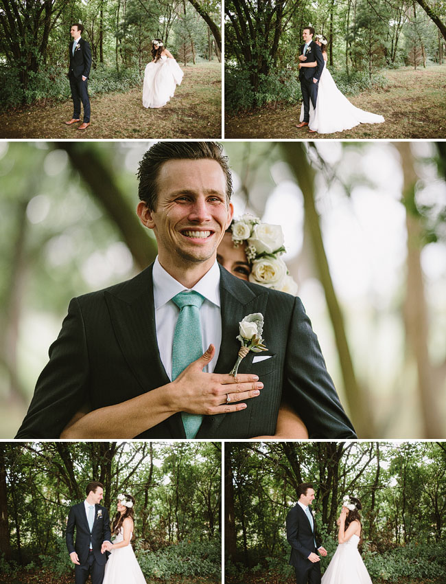 nashcago wedding first look