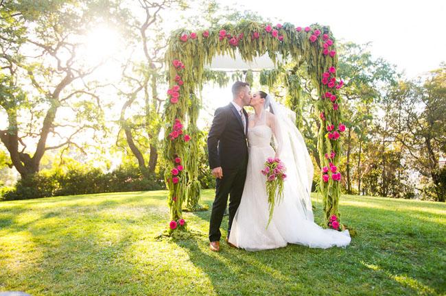 Rose McGowan Wedding