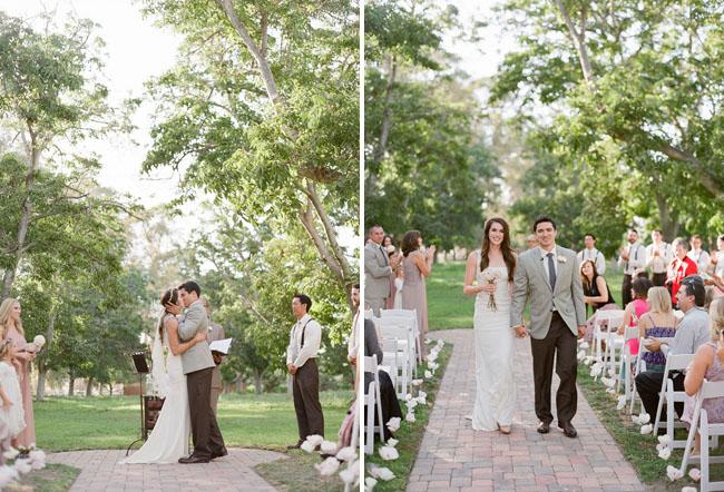 romantic outdoor ceremony