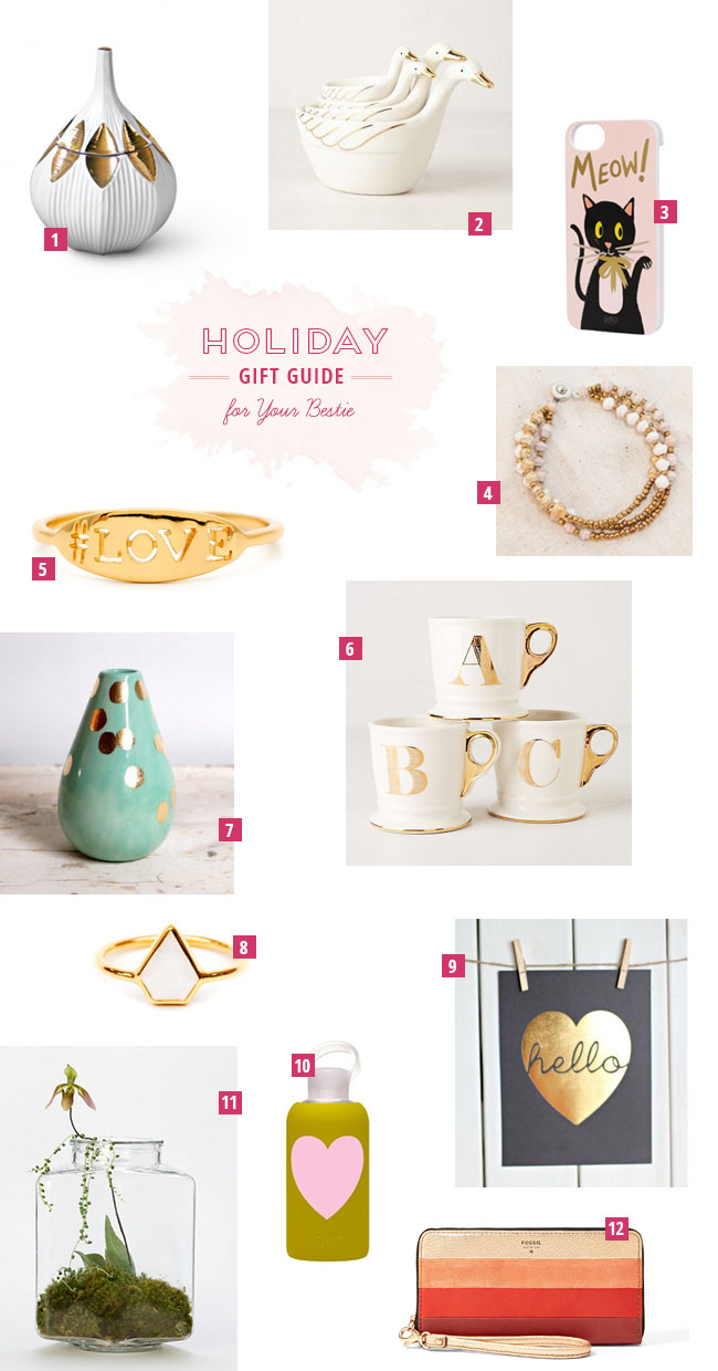 Holiday Gift Guide for Your Bestie Green Wedding Shoes Weddings ...