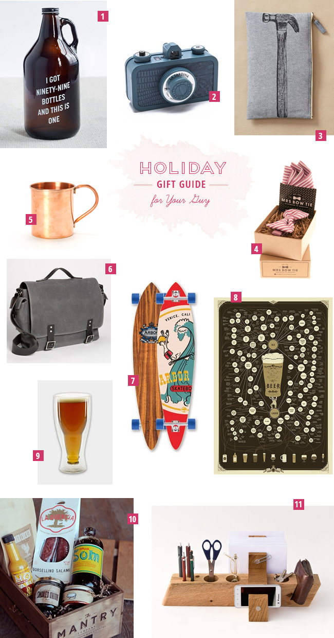 Holiday gift guide for your man for A gift for a guy