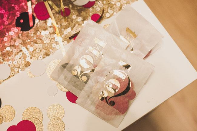 2013 gold foil bags