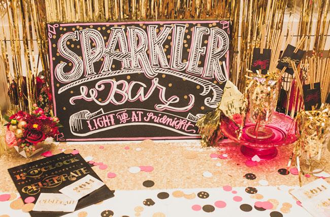 sparkler bar