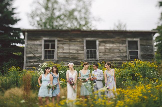 catskill farm bridesmaids