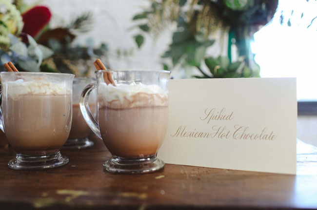 spiced mexican hot chocolate