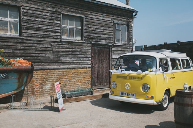 british seaside wedding