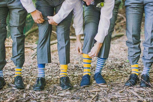 striped groomsmen socks