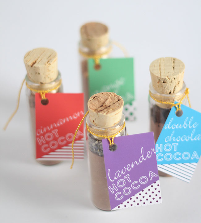 DIY Hot Cocoa Favors
