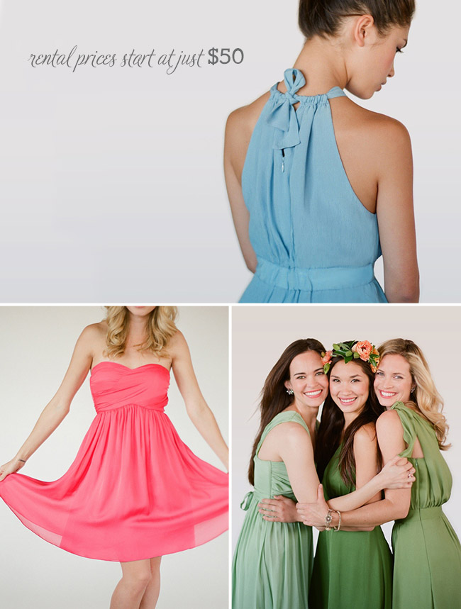Rent The Perfect Bridesmaid Dress With Little Borrowed Dress