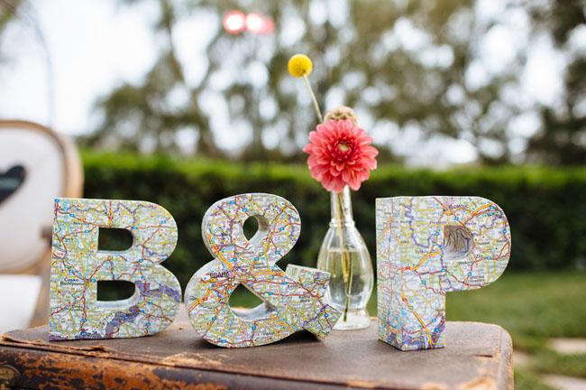 Vintage Travel Themed Wedding Brittney Patrick