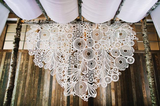crochet backdrop