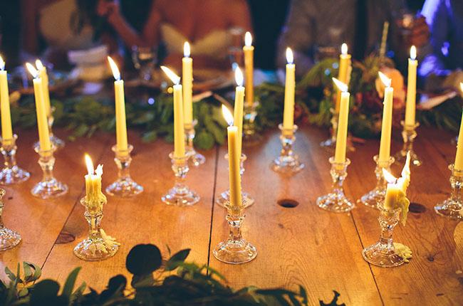 skinny candlesticks