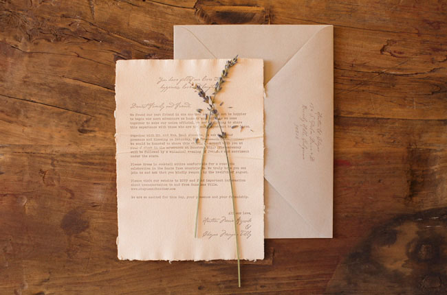 Tuscan Themed Wedding Invitations: Sunstone Winery And Villa Wedding