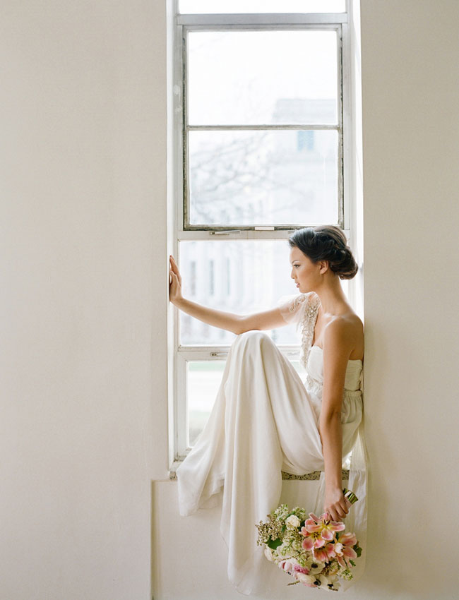 window sill bride