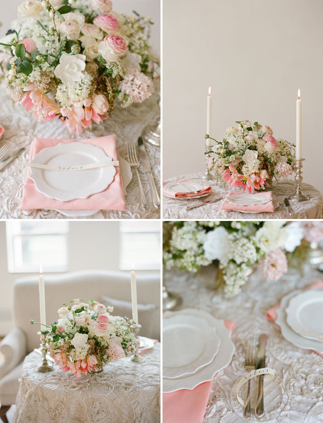 blush tablescape