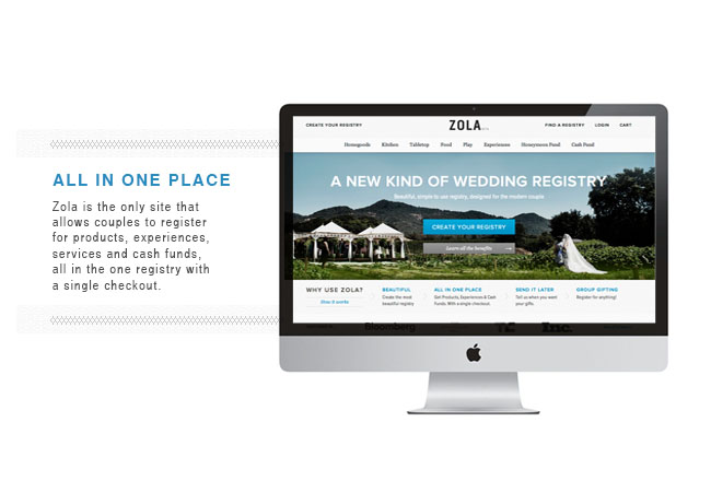 Zola Wedding Registry