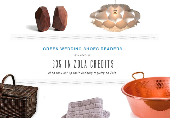 Zola Wedding Registry Giveaway