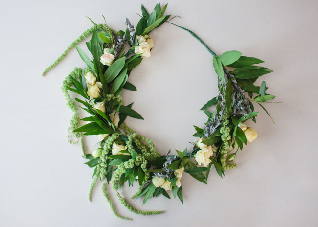 Floral Wreath DIY