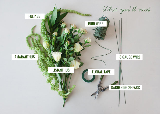 Floral Wreath Supplies