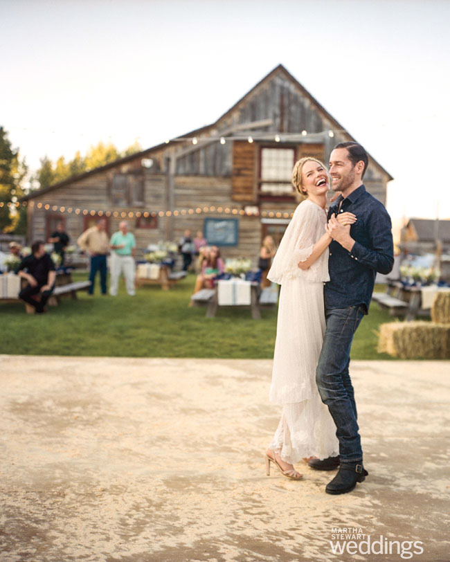 Kate Bosworth Wedding Dance