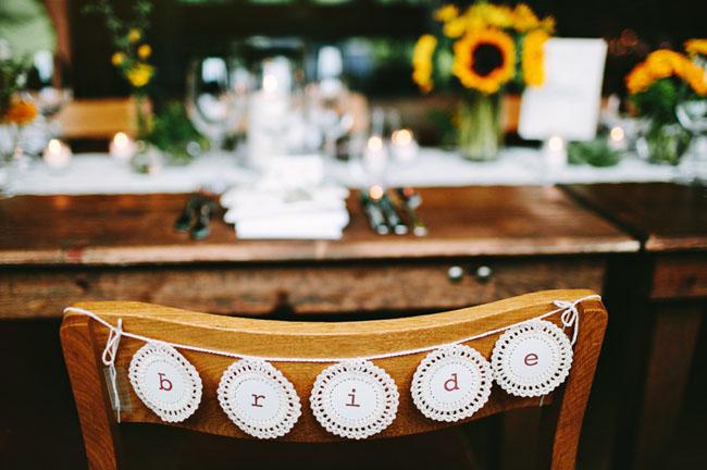 bride lace letters