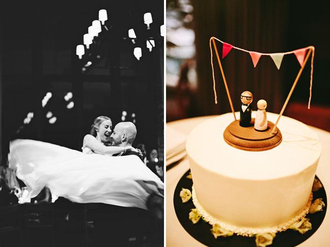 custom peg bride and groom