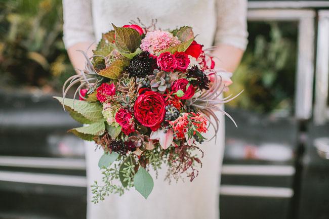 botanical inspiration bouquet