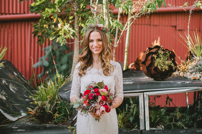 botanical inspiration bride
