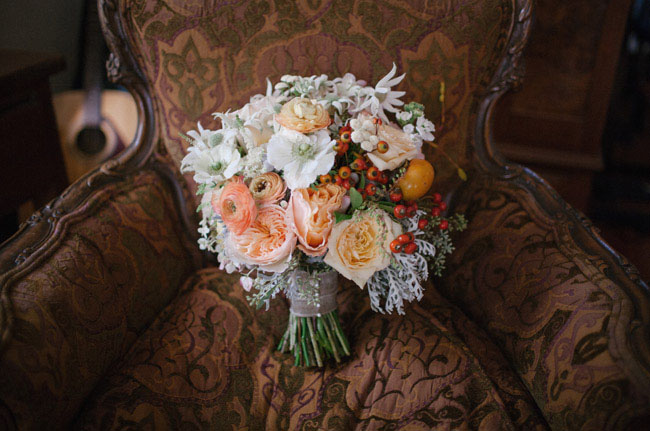california barn bouquet