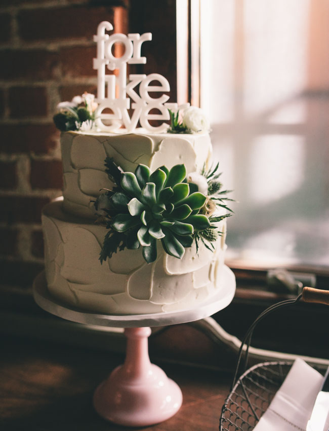 for like ever cake topper