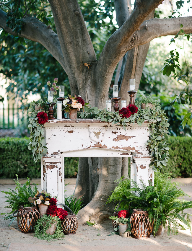 vintage mantle ceremony