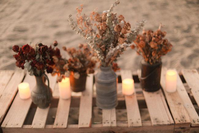 sunset elopement party