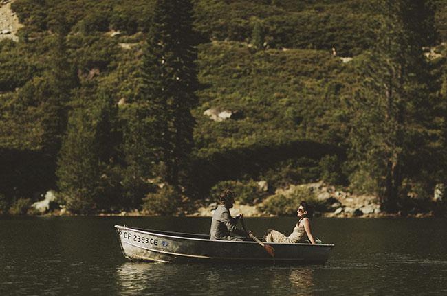 ceremony exit in canoe