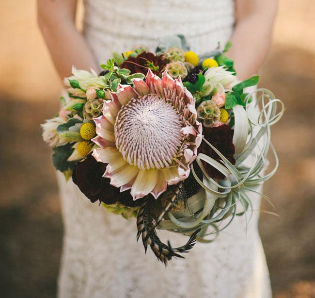 california rustic bouquet