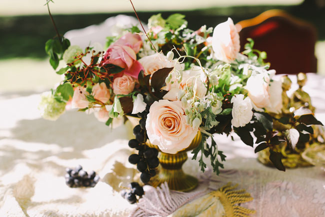 romantic centerpieces