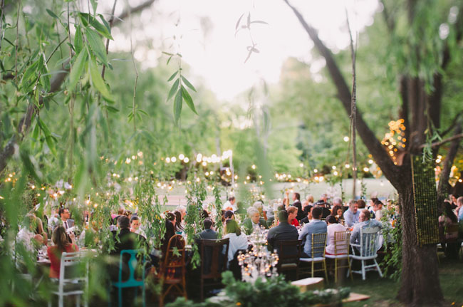reception in the trees