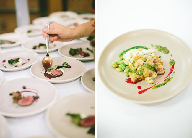 plated foods