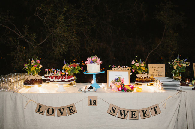 love is sweet table