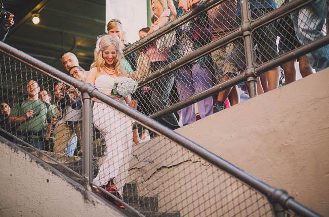 meet us at the market wedding