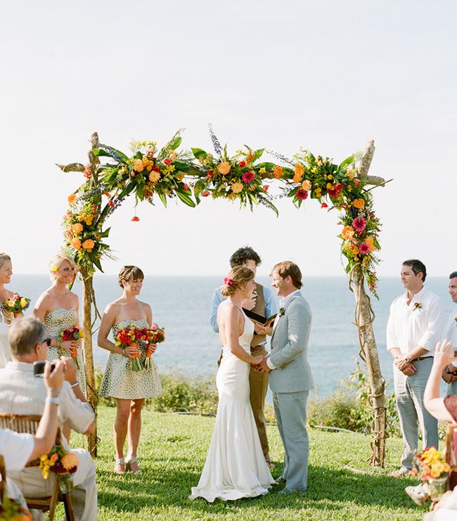 mexico wedding arch